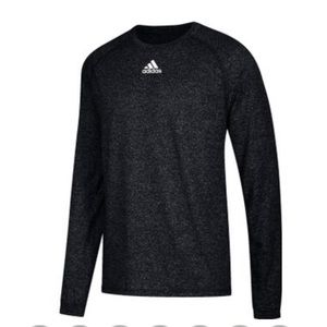 Climalite Pullover Top ADIDAS long sleeve black XL